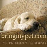 Bring My Pet pet friendly lodging guide