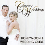 Country Weddings honeymoon and wedding planning guide
